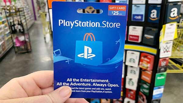 خرید و قیمت گیفت کارت 60 دلاری آمریکا برای ps5