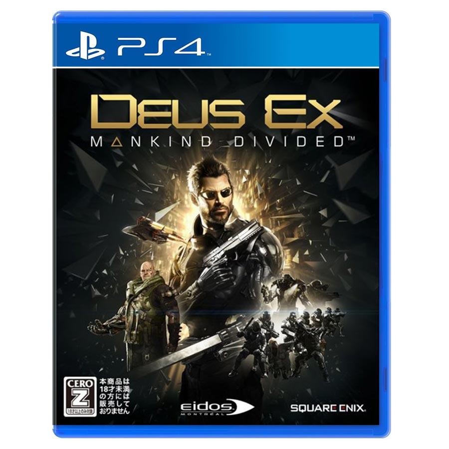 Deus EX : Mankind Divided Steelbook کارکرده