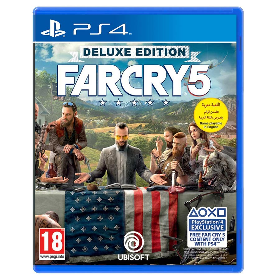 Far cry 5 Deluxe Edition کارکرده
