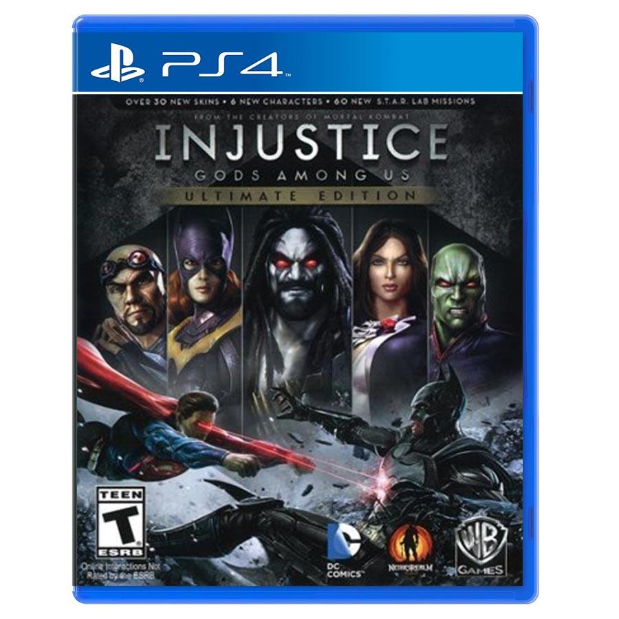 Injustice Gods Among Us : Ultimate Edition کارکرده