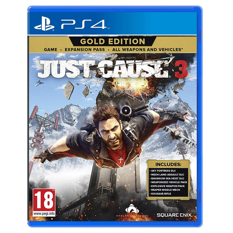 Just Cause 3 : Gold Edition کارکرده