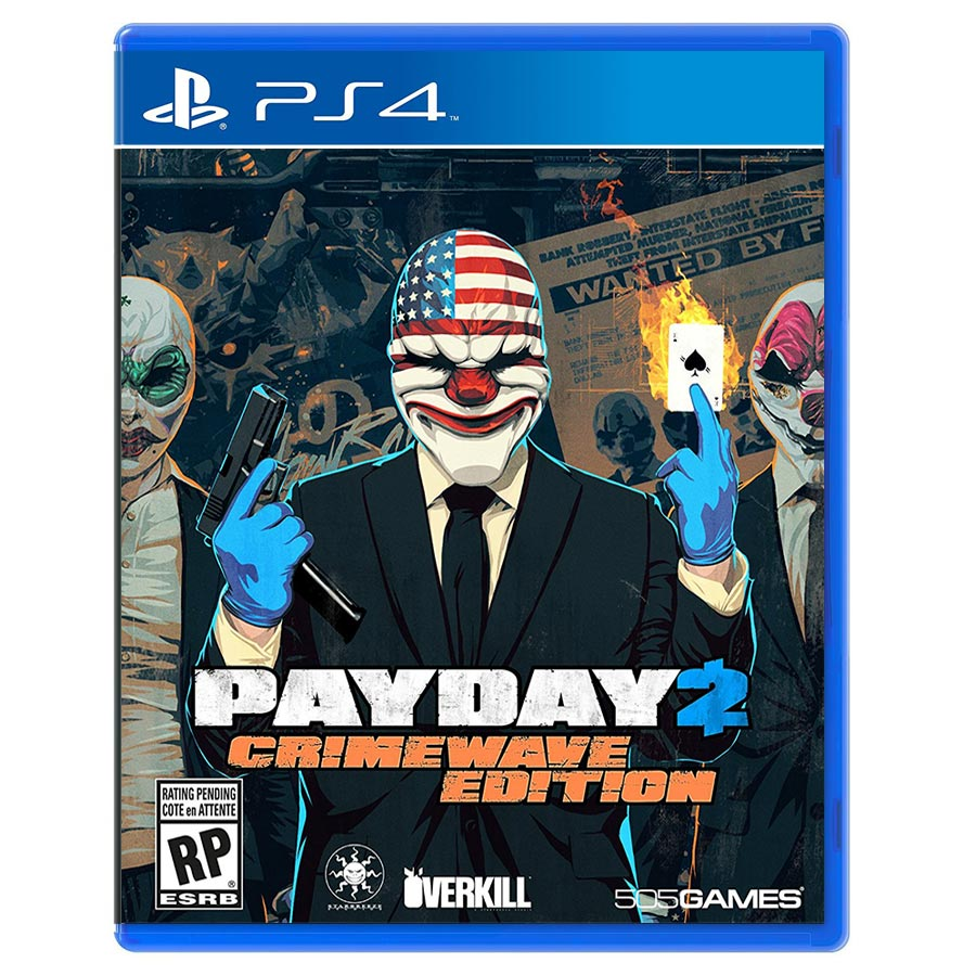 Pay Day 2 Crimewave Edition کارکرده