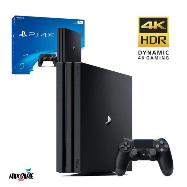 کنسول بازي سونی مدل Playstation 4 Pro کد CUH-7116B Region 2 - ظرفيت 1 ترابايت