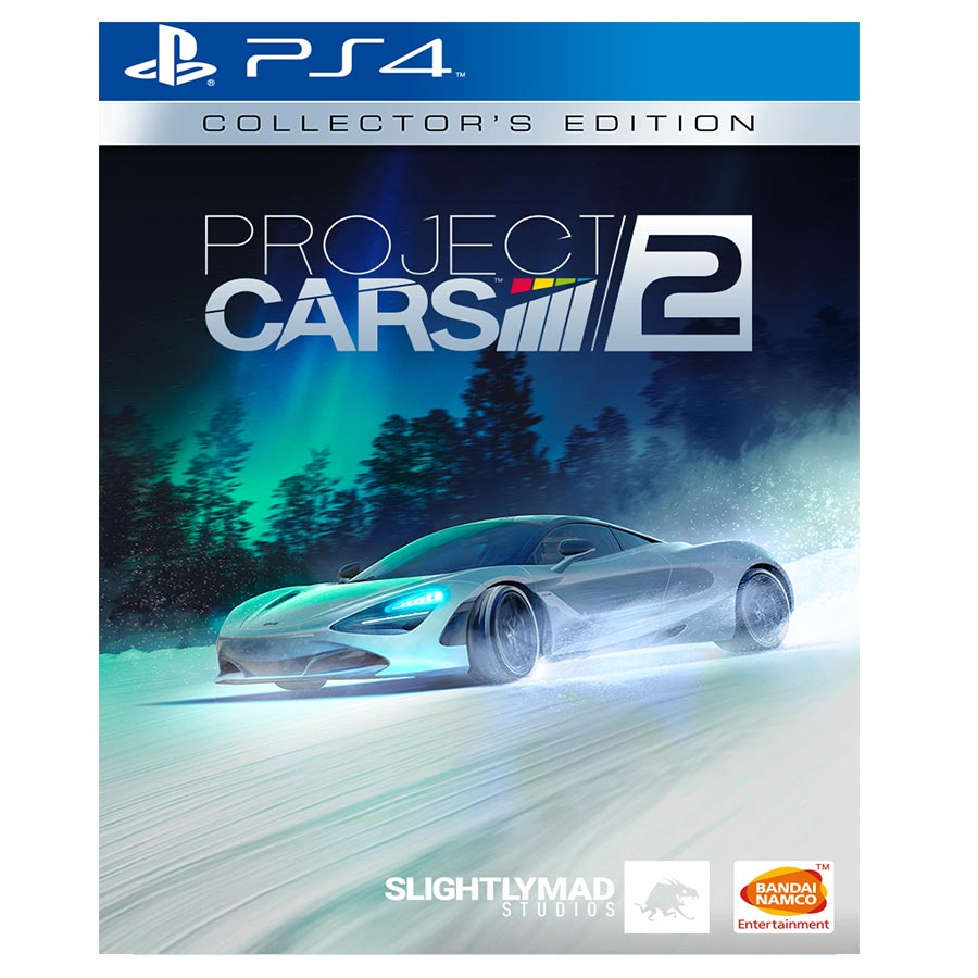 Project Cars 2 Limited Edition Steel book کارکرده