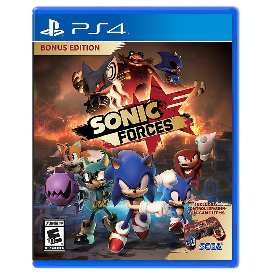 SONIC FORCES کارکرده