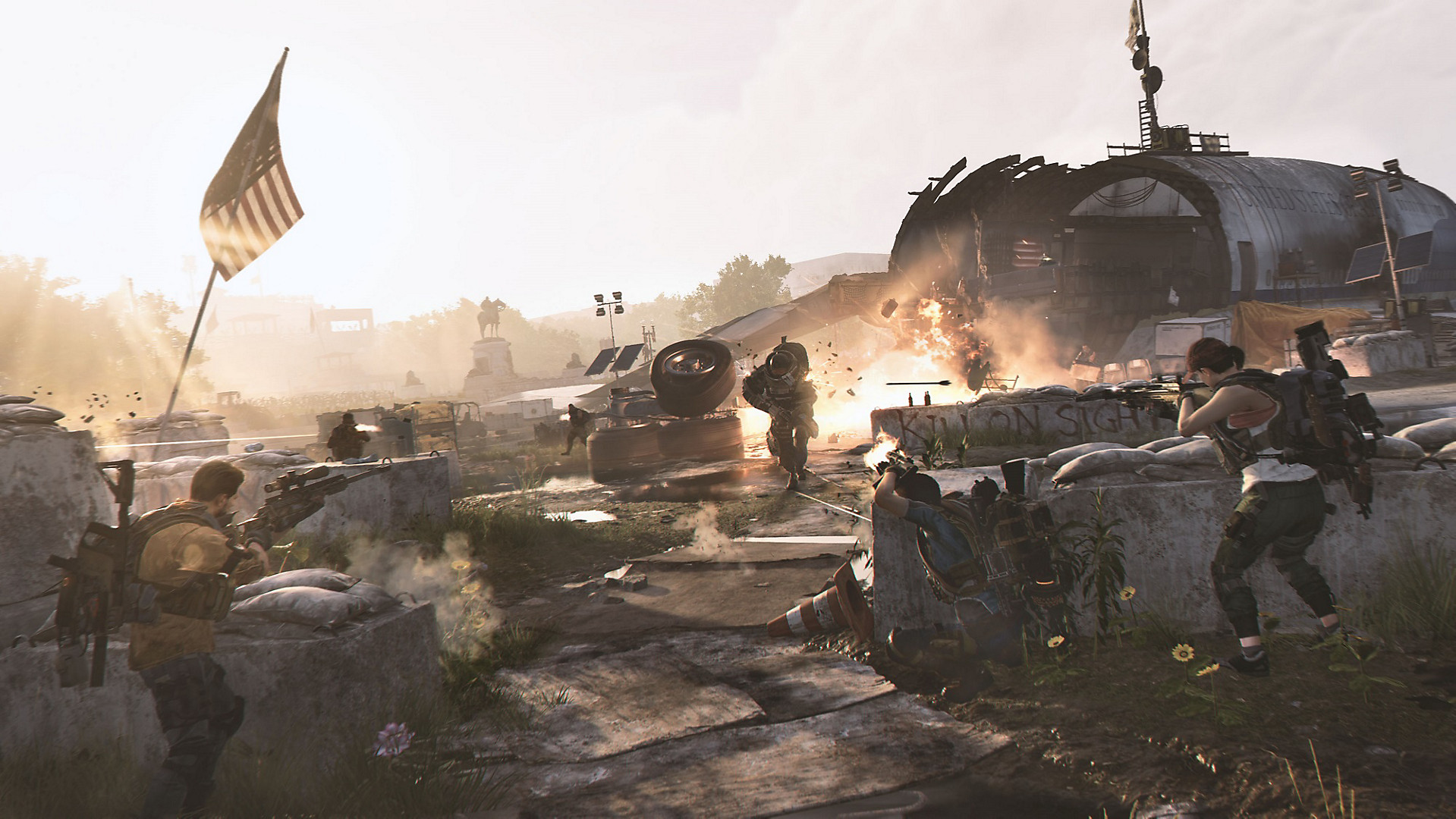 Tom Clancy's The Division 2 کارکرده