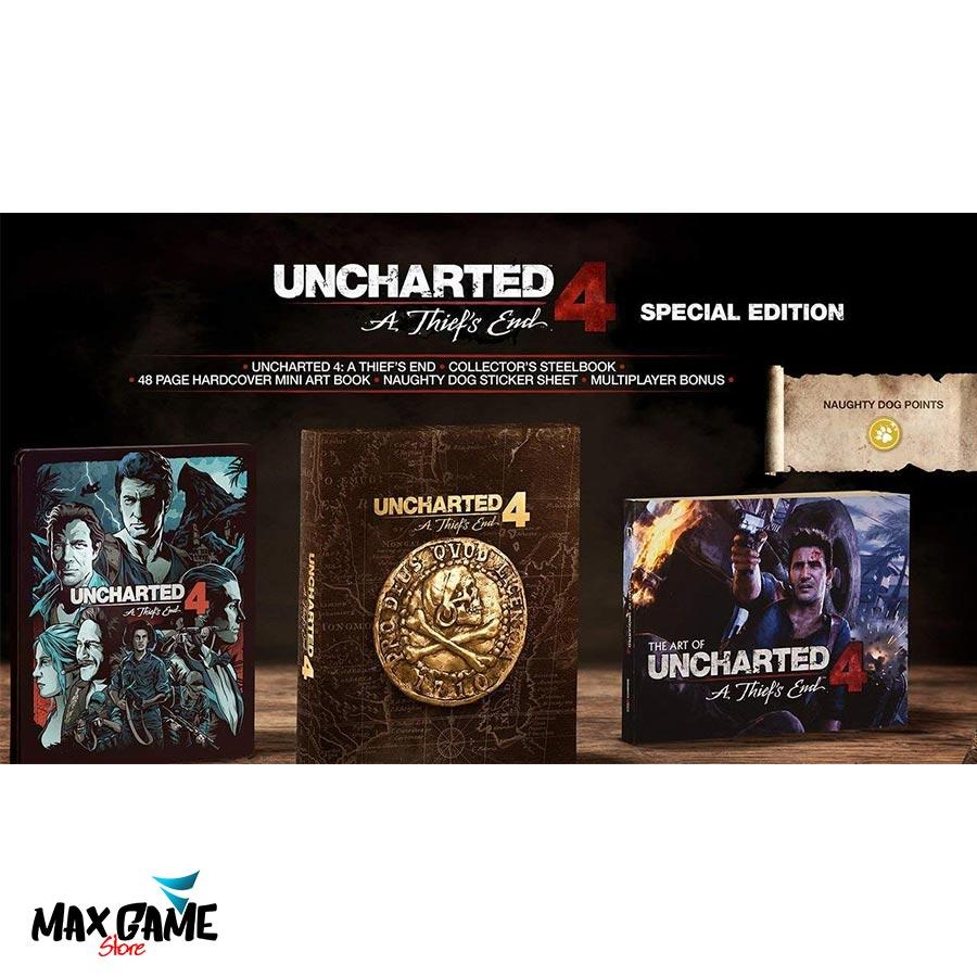 Uncharted 4 Steelbook کارکرده