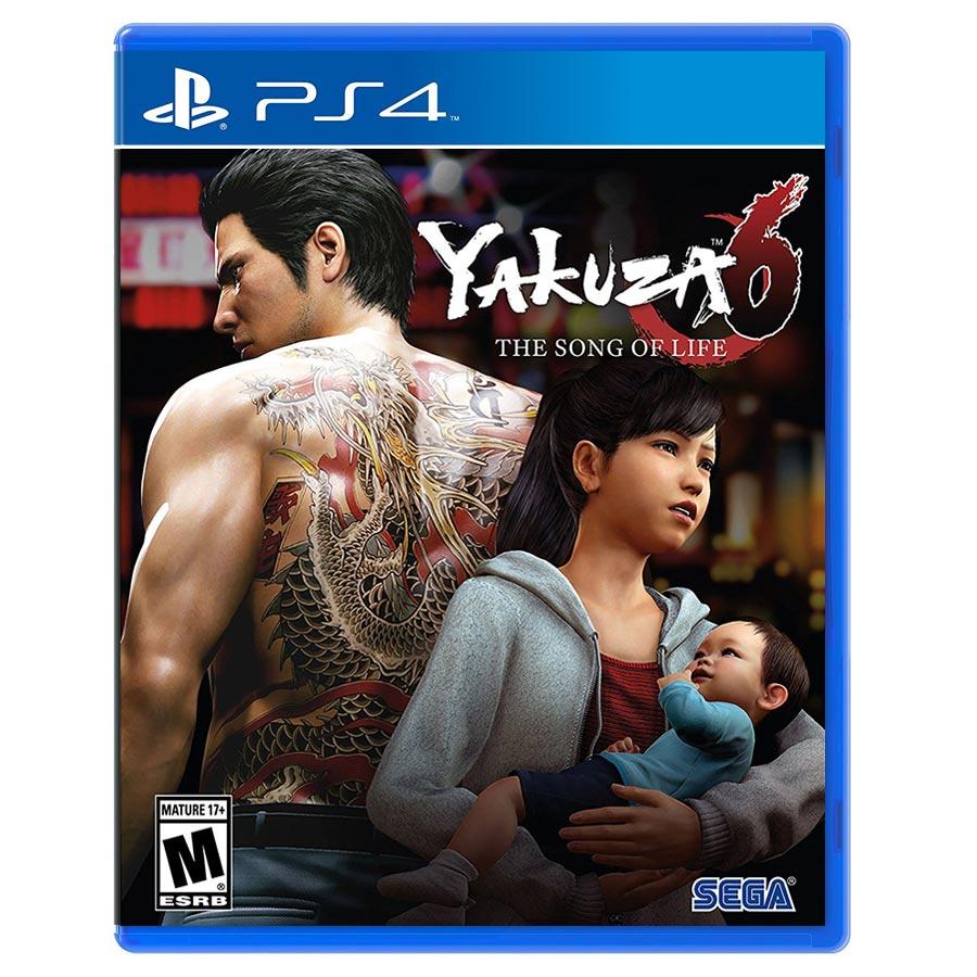 Yakuza 6 The Song of Life کارکرده