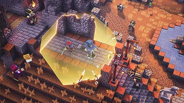 خرید بازی Minecraft Dungeons برای ps4